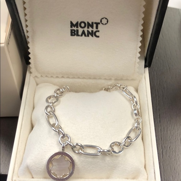 7bc67d4e7ceeb Montblanc Jewelry | Authentic Silver Star Bracelet | Poshmark
